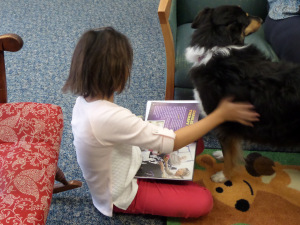 Reading with Zyla