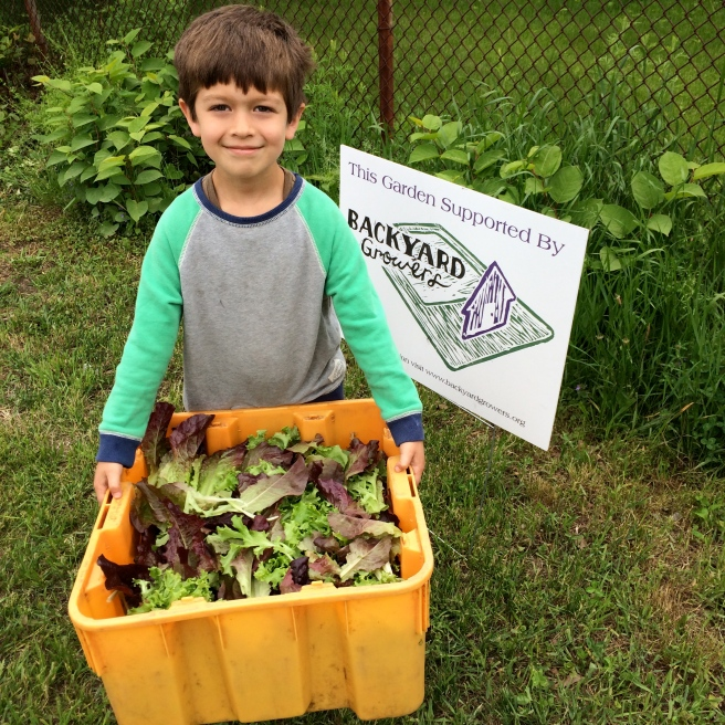 Henry Harrison Salad Harvest West Parish Elementary Gloucester