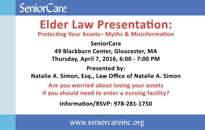 Elder Law Presentation