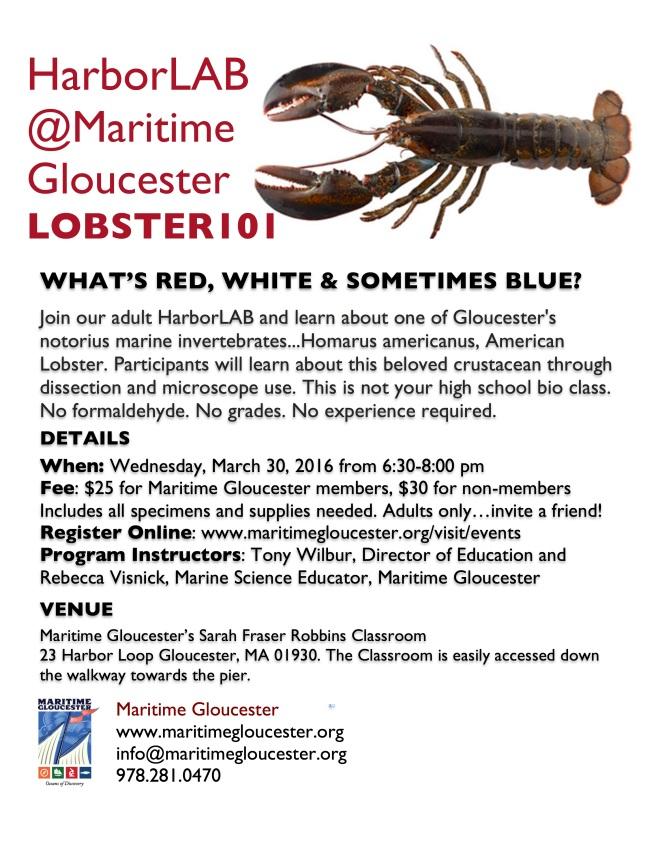 Lobster HarborLAB poster