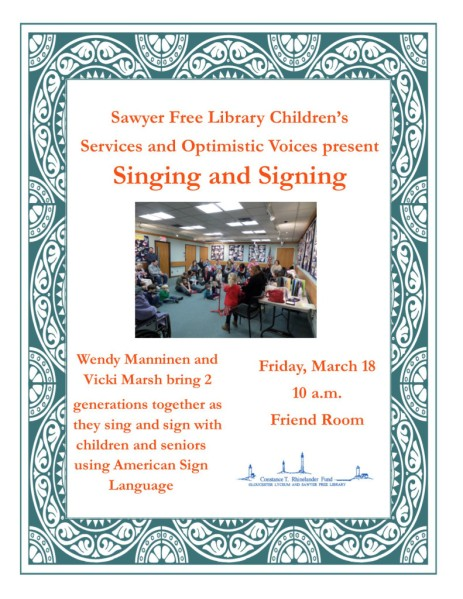 Singing Signing March16