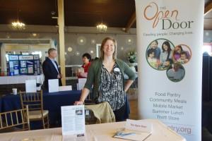 The Open Door was one of over 30 exhibitors at the 2015 Volunteer Fair.