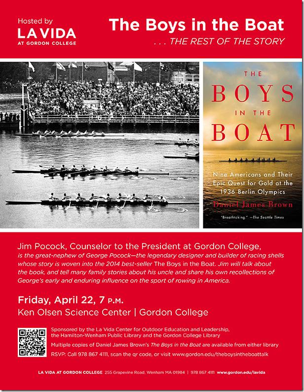 La Vida Boys in the Boat Poster