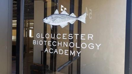 GBA front door sign