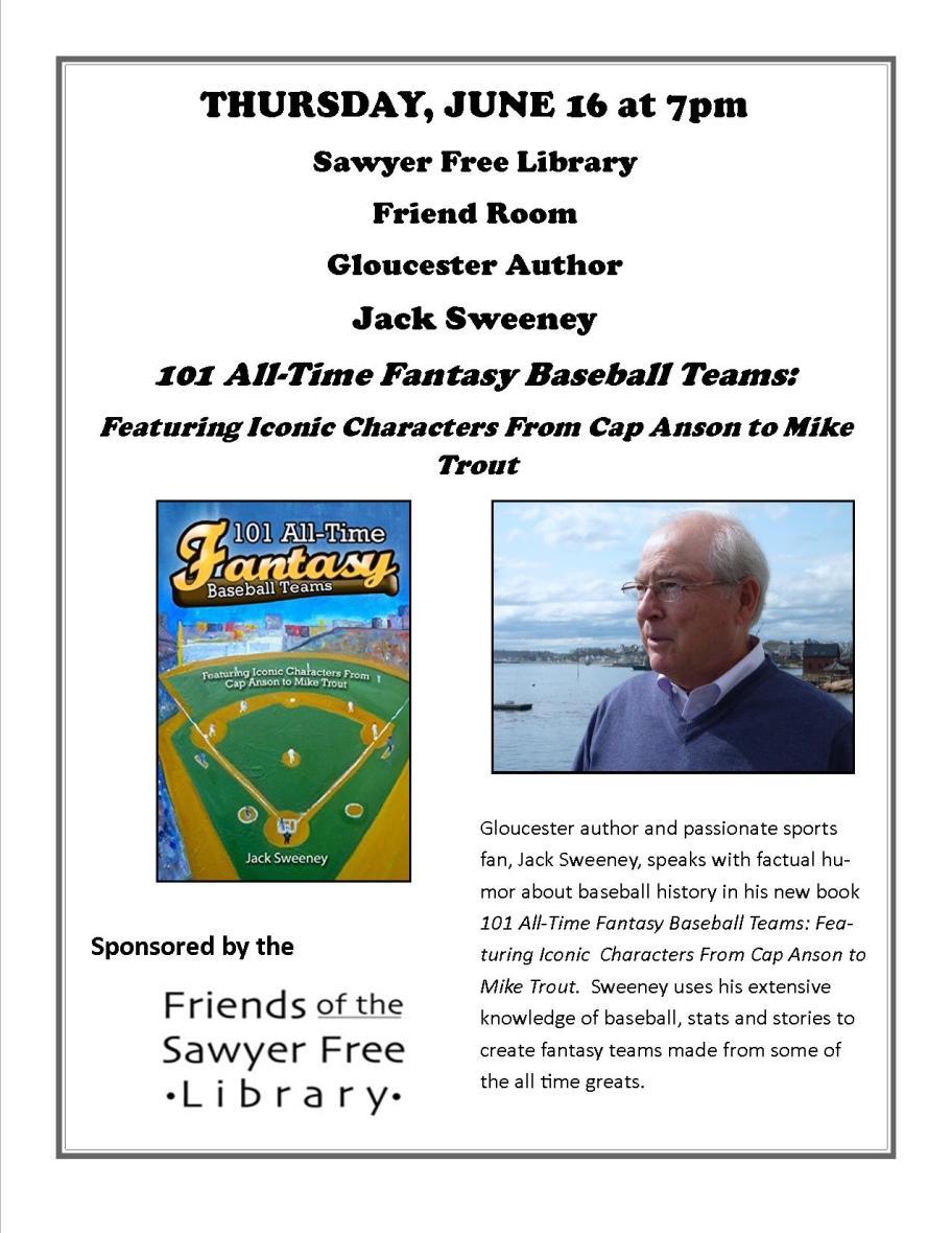 june16Jack Sweeney Fantasy Baseball Teams
