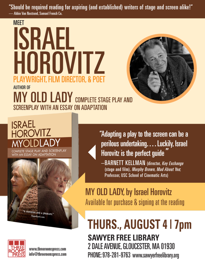 Aug 4 Israel Horovitz