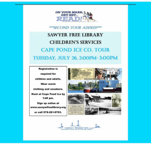 Cape Pond Ice Second Tour Openings