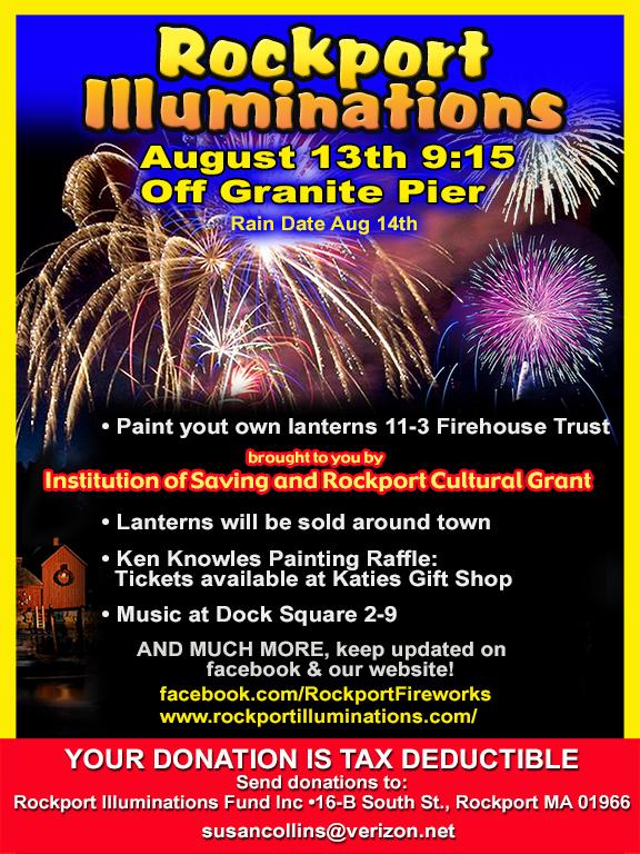 Fireworks flier 2016