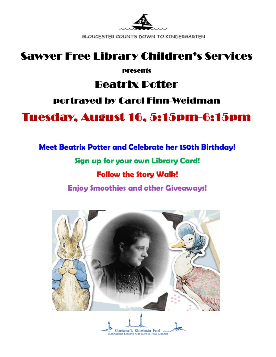 Aug16Beatrix Potter Carole Finn
