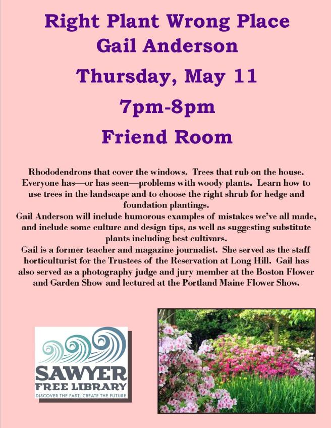 Gail Anderson Right Plant Flyer