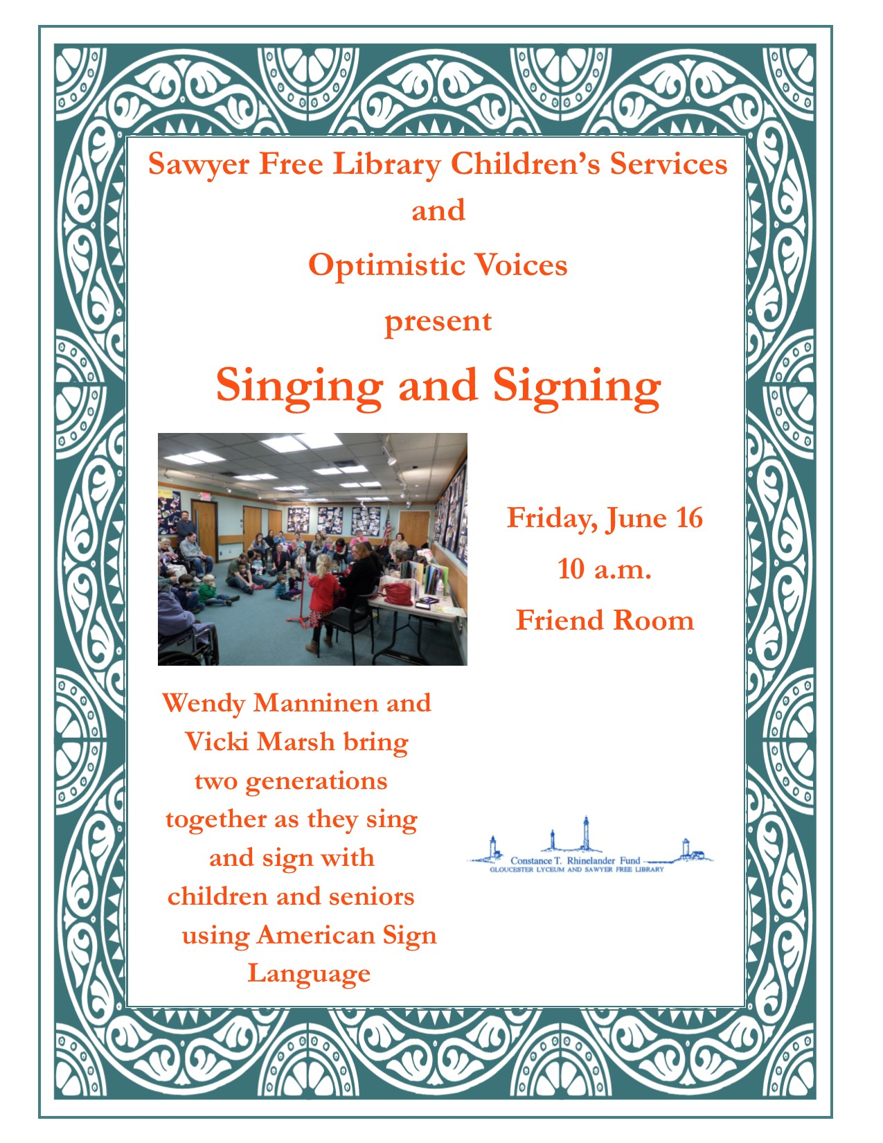 Singing Signing June 2017