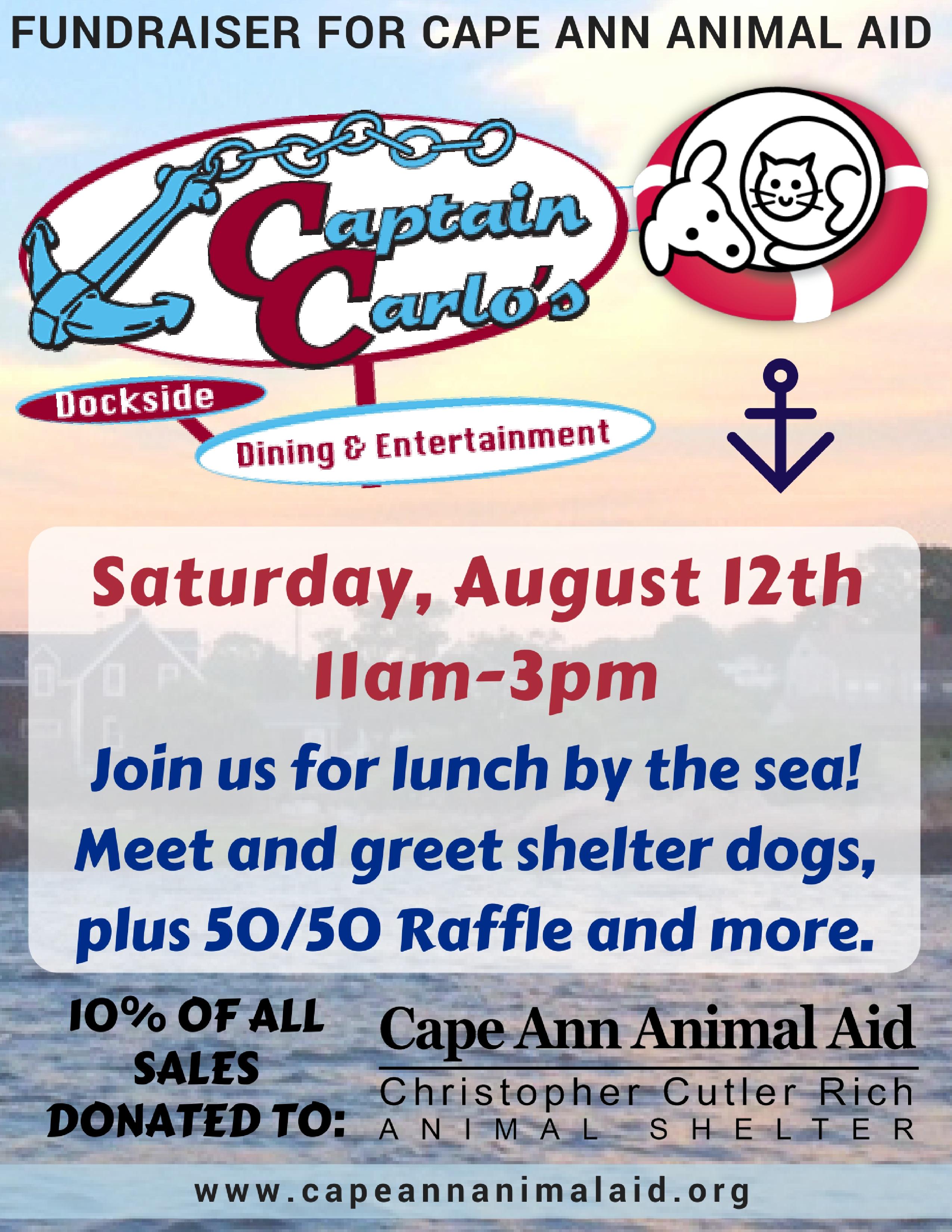 captain carlos fundraiser