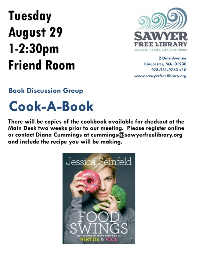 Cooking FLYER AUGUST