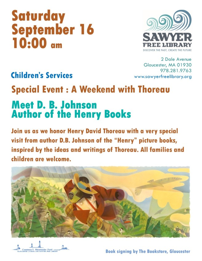 Johnson HENRY THOREAU flyer 9-16-17