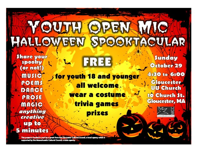 halloween flyer color