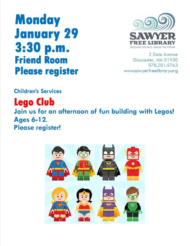 Lego Club January 2018