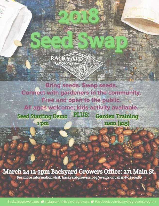 Seed Swap 2018