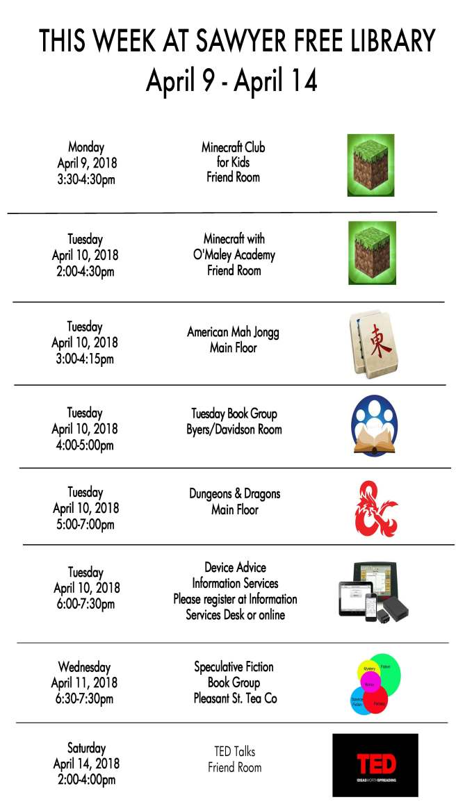 week of April 9