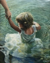 Eileen Patten Oliver A.M. Getting Her Feet Wet