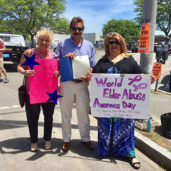 Elder Abuse Awareness Rally 2017a