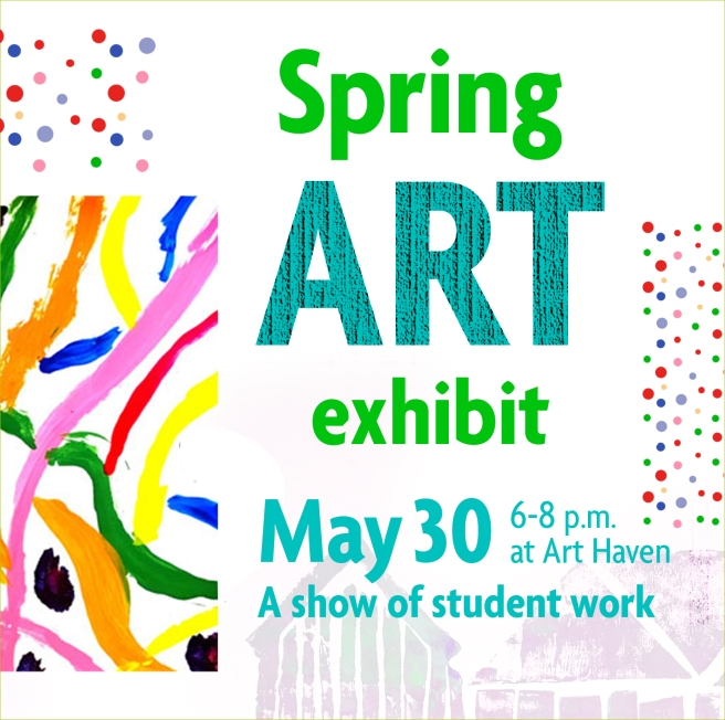 Student Spring Art exhibit-FInal-SQU