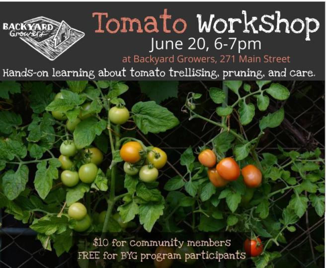 2018 Tomato Workshop