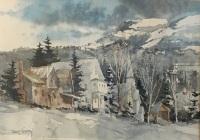 Robert Steedman Dover, Vermont in Winter
