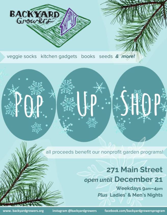 Backyard Growers Holiday Pop Up Shop Open For Business Cape Ann