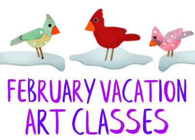 February Vacation Art Classes | Cape Ann Community