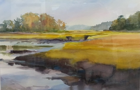 Lynne Cassinarn, Autumn Marsh