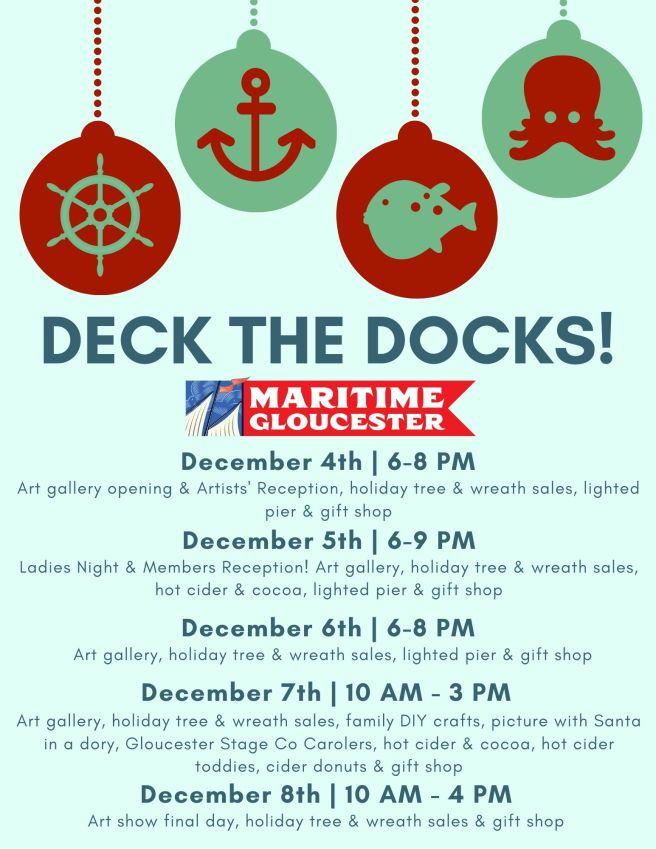 Deck The Docks! Nov 11