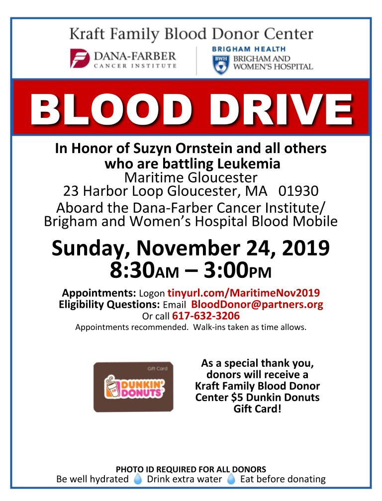 GGR Blood Drive
