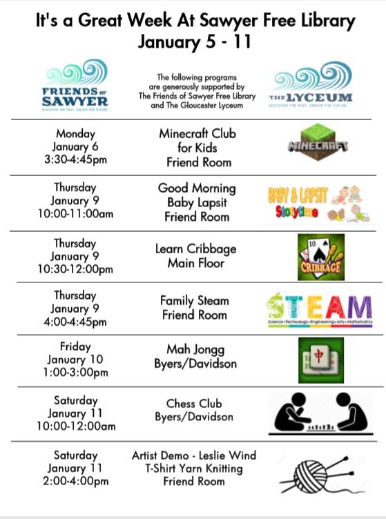 Week of January 6