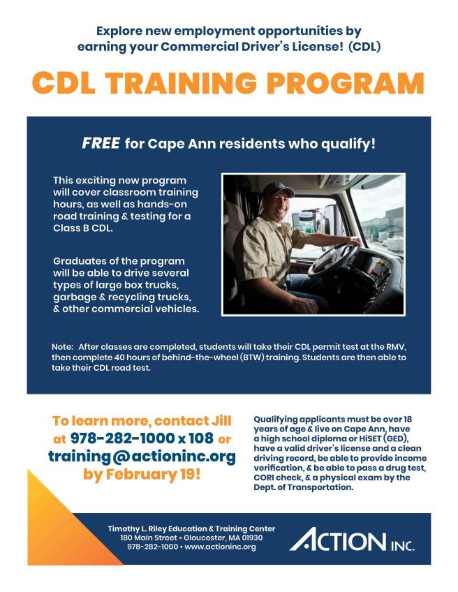 CDL Training Flyer GENERAL